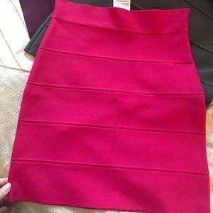 BCBG Simone sweater power skirt